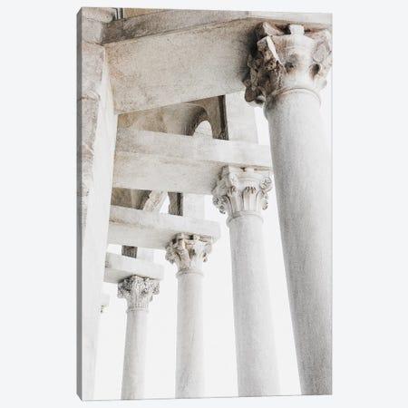 Corinthian Columns Canvas Print #MIZ30} by Magda Izzard Canvas Art Print