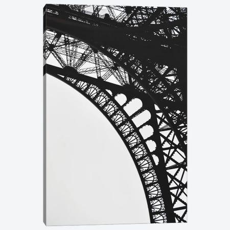 Eiffel V Canvas Print #MIZ42} by Magda Izzard Canvas Artwork