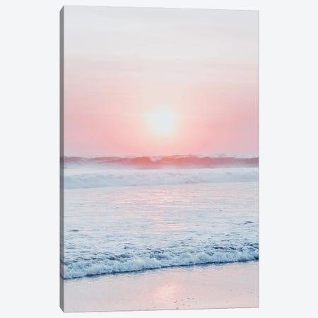 Sunset Wave Canvas Print #MIZ86} by Magda Izzard Canvas Print