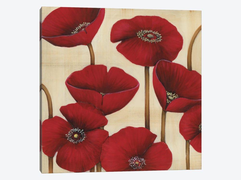 Bouquet Rouge by MAJA 1-piece Canvas Art