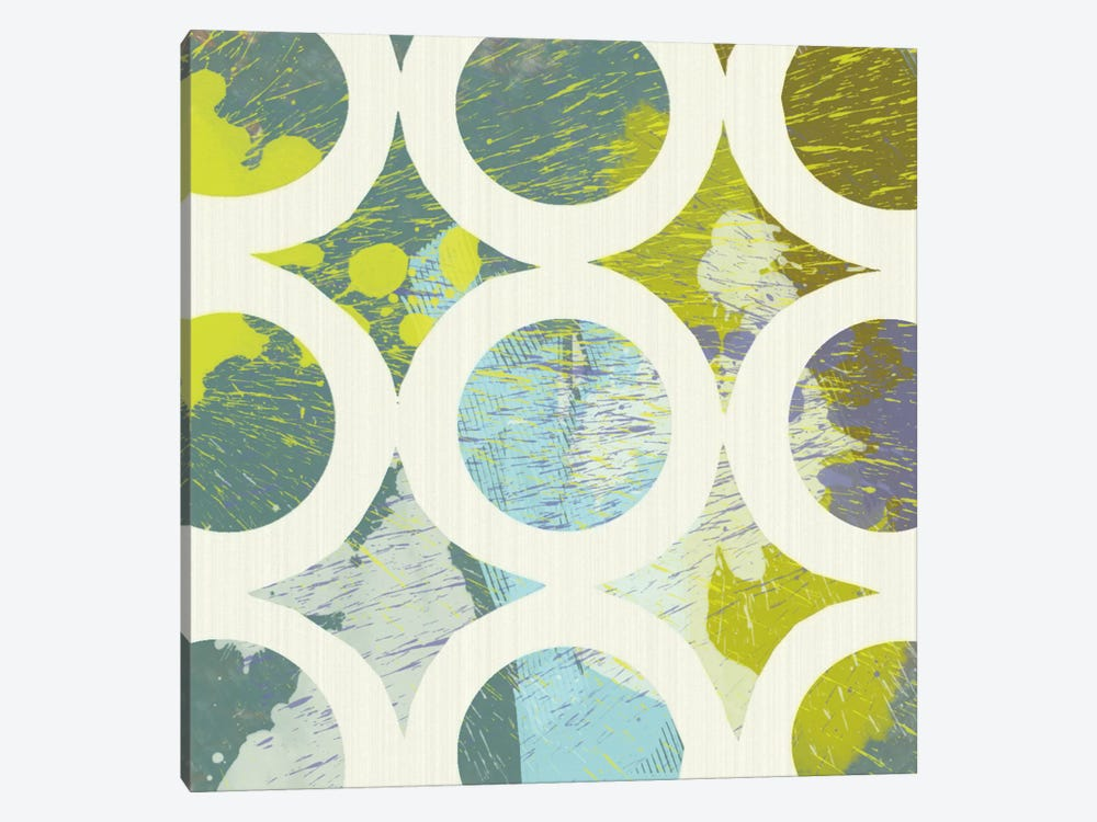 Circling I by MAJA 1-piece Canvas Artwork