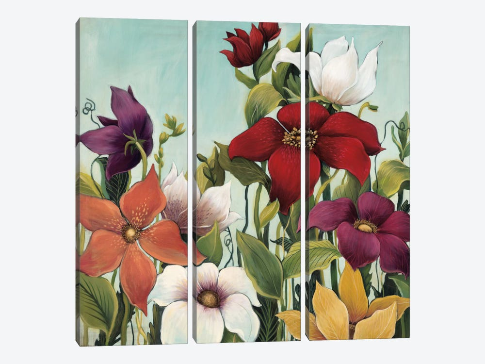 Efflorescence by MAJA 3-piece Canvas Print