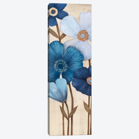 Fleurs Bleues I Canvas Print #MJA21} by MAJA Canvas Art Print