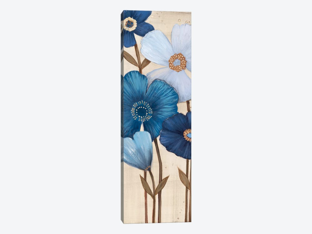 Fleurs Bleues I by MAJA 1-piece Canvas Artwork