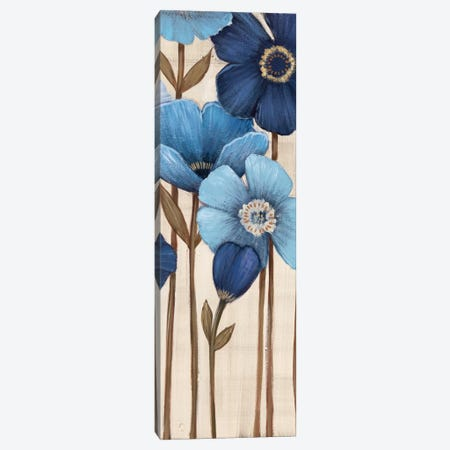 Fleurs Bleues II Canvas Print #MJA22} by MAJA Canvas Print