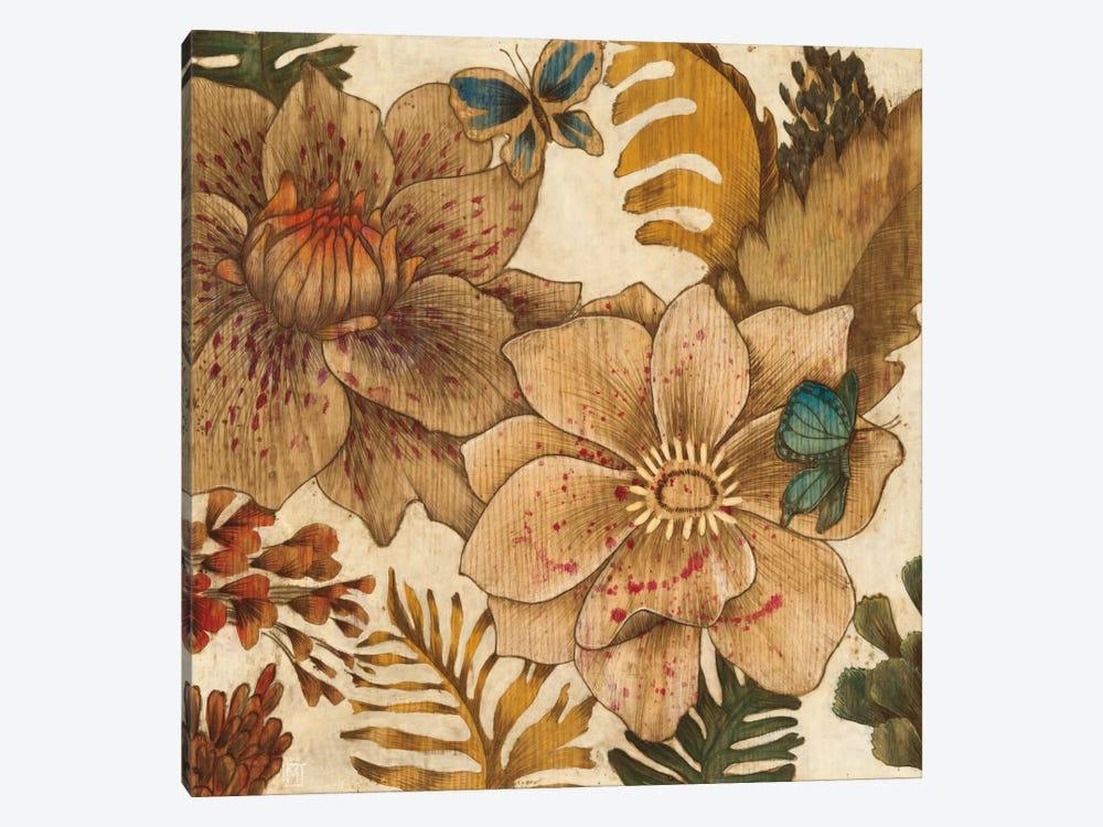Fleurs De Bois by MAJA 1-piece Canvas Art