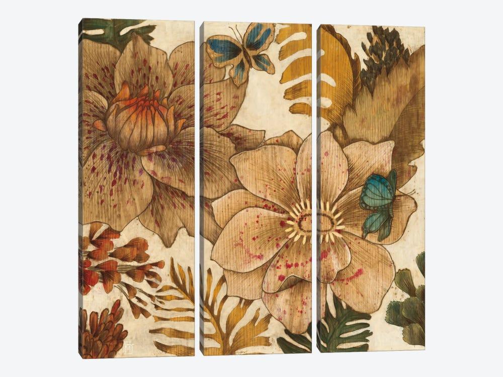Fleurs De Bois by MAJA 3-piece Canvas Wall Art