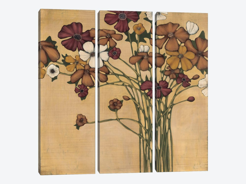 Wandering Bouquet by MAJA 3-piece Canvas Wall Art