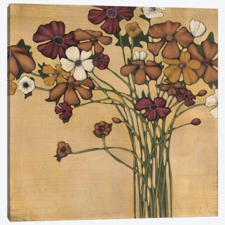 Wandering Bouquet Canvas Print #MJA47} by MAJA Canvas Wall Art
