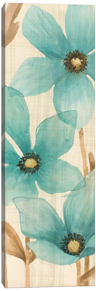 Waterflowers I Canvas Art Print