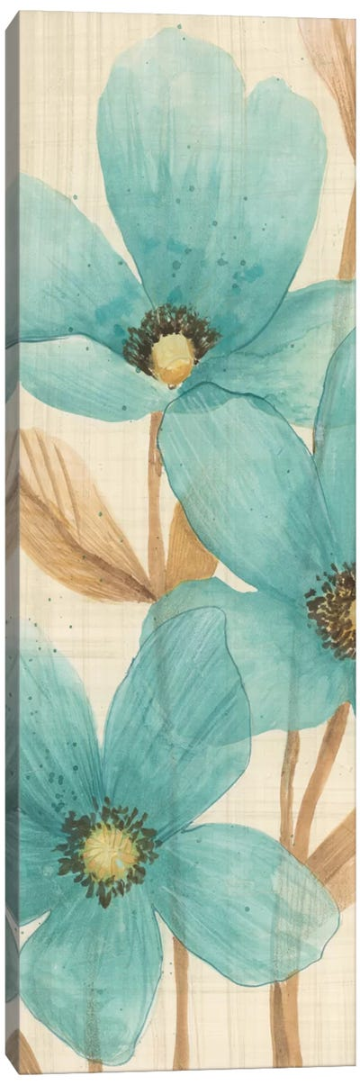 Waterflowers II Canvas Art Print