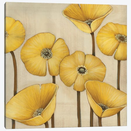 Bouquet Jaune Canvas Print #MJA8} by MAJA Canvas Art Print