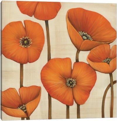 Bouquet Orange Canvas Print #MJA9