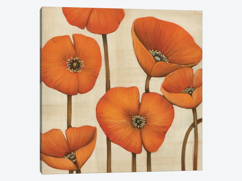 Bouquet Orange by MAJA 1-piece Canvas Wall Art