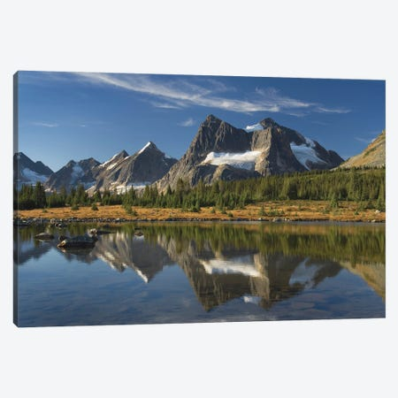 Canada, Alberta. Tonquin Valley, Jasper National Park. Canvas Print #MJC100} by Alan Majchrowicz Canvas Print