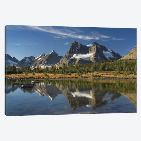 Canada, Alberta. Tonquin Valley, Jasper National Park. Canvas Print #MJC100} by Alan Majchrowicz Canvas Print