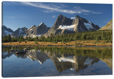 Canada, Alberta. Tonquin Valley, Jasper National Park. Canvas Art Print