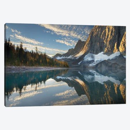 Canada, British Columbia. Sunrise on The Rockwall and Floe Lake, Kootenay National Park. Canvas Print #MJC102} by Alan Majchrowicz Canvas Art Print