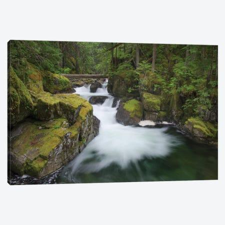 USA, Washington State. Deception Creek, Alpine Lakes Wilderness. Canvas Print #MJC109} by Alan Majchrowicz Canvas Print
