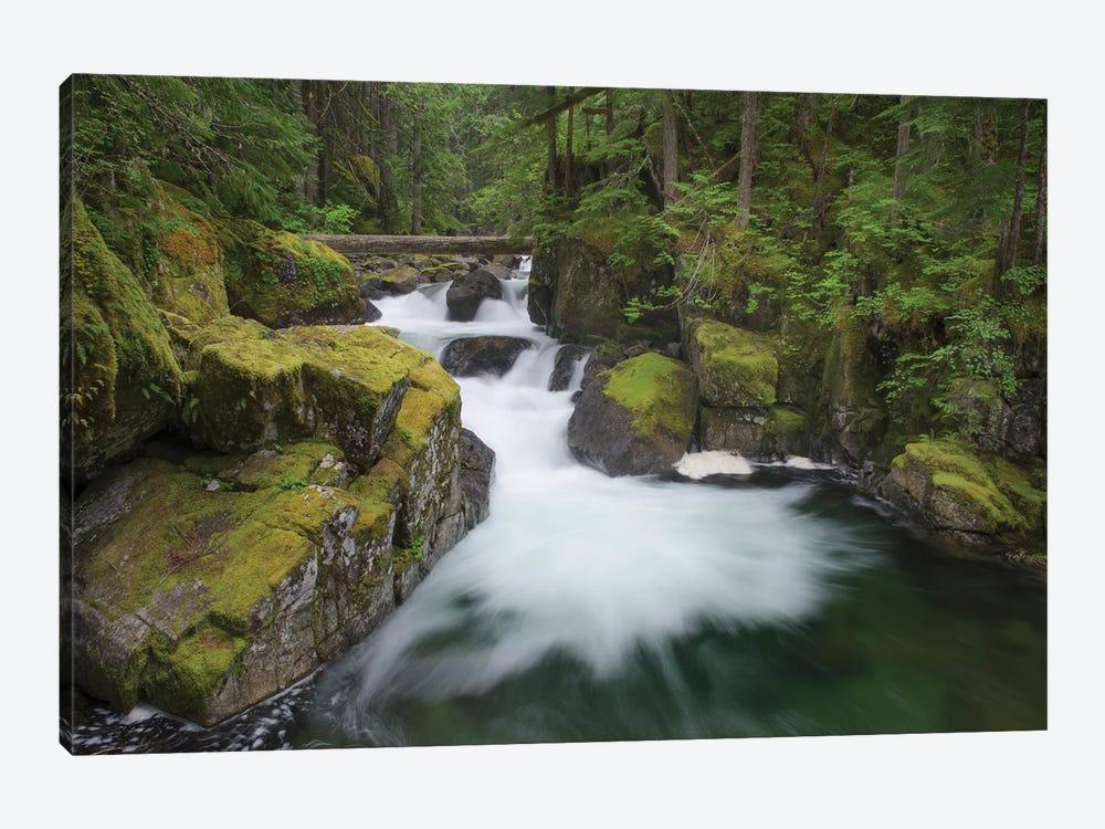 USA, Washington State. Deception Creek, Alpine Lakes Wilderness. by Alan Majchrowicz 1-piece Canvas Print
