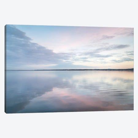Bellingham Bay Clouds Reflection II Canvas Print #MJC118} by Alan Majchrowicz Canvas Artwork