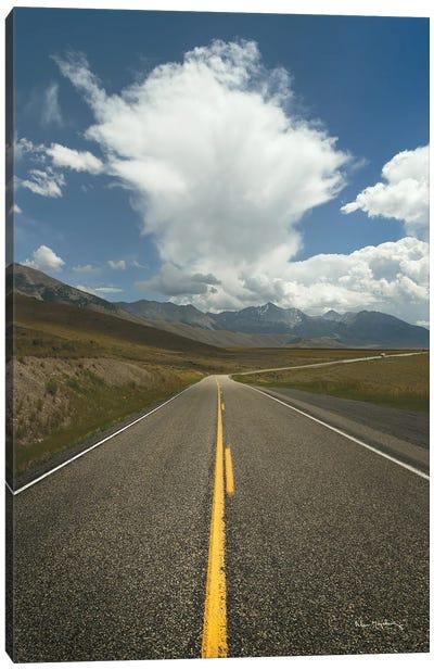 Highway 93 in Idaho Canvas Art Print