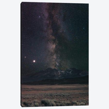 Milky Way in Sawtooth Mountains Canvas Print #MJC122} by Alan Majchrowicz Canvas Print