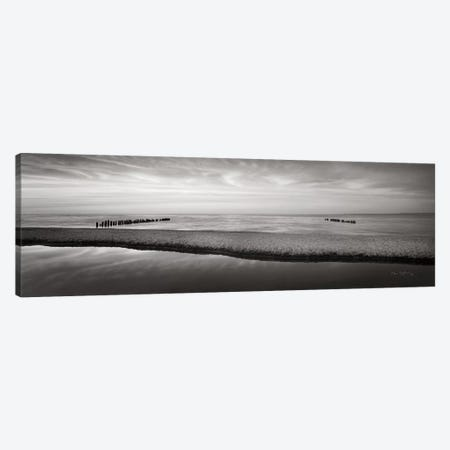 Lake Superior Beach IV BW Canvas Print #MJC13} by Alan Majchrowicz Canvas Artwork