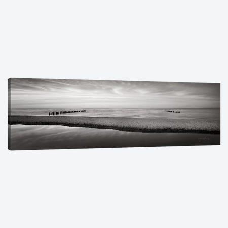 Lake Superior Beach IV BW Canvas Print #MJC13} by Alan Majchrowicz Canvas Artwork