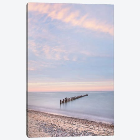 Lake Superior Old Pier I Canvas Print #MJC14} by Alan Majchrowicz Canvas Art Print