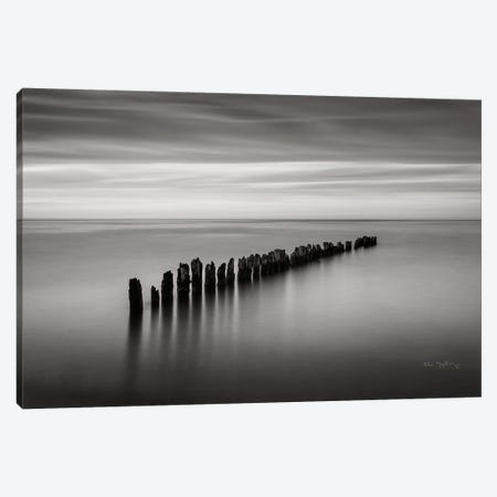 Lake Superior Old Pier III Canvas Print #MJC15} by Alan Majchrowicz Canvas Art Print
