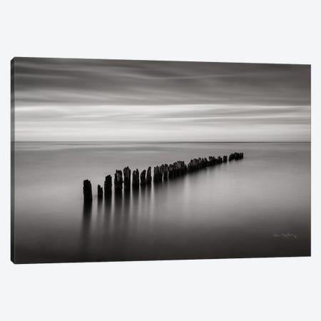 Lake Superior Old Pier III Canvas Print #MJC15} by Alan Majchrowicz Canvas Art Print