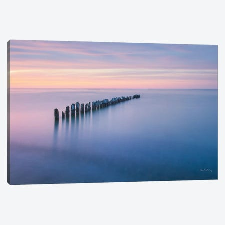 Lake Superior Old Pier IV Canvas Print #MJC16} by Alan Majchrowicz Canvas Art Print