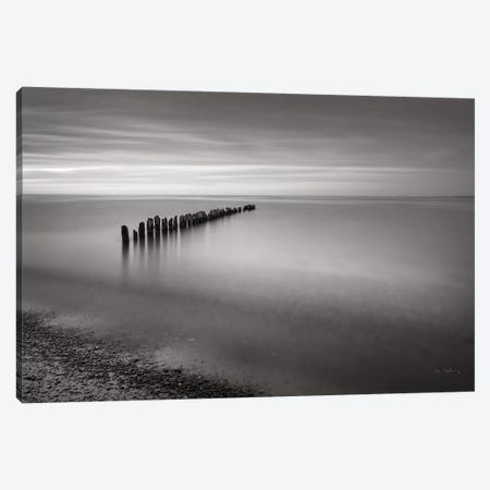 Lake Superior Old Pier V 3-Piece Canvas #MJC17} by Alan Majchrowicz Canvas Print