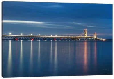 Mackinac Bridge Canvas Art Print