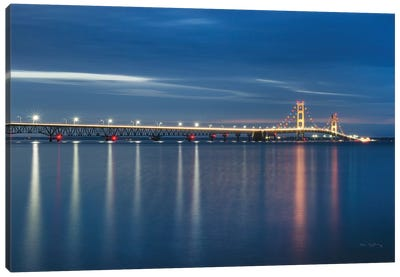 Mackinac Bridge Canvas Art Print
