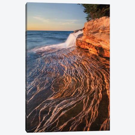 Pictured Rocks Michigan I Canvas Print #MJC22} by Alan Majchrowicz Canvas Art Print