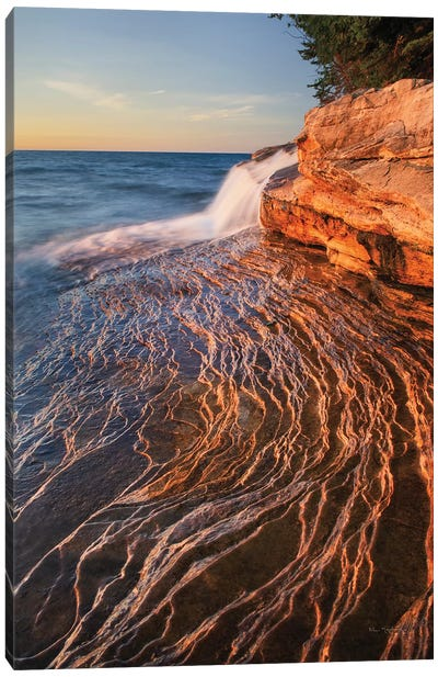 Pictured Rocks Michigan I Canvas Art Print