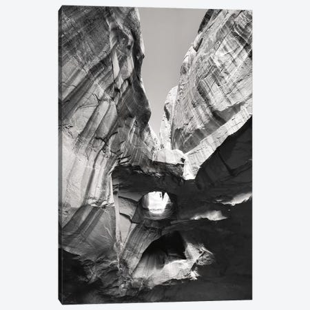 Neon Canyon I BW 3-Piece Canvas #MJC75} by Alan Majchrowicz Canvas Print