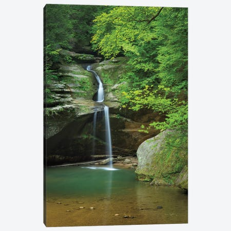 Lower Falls Old Mans Cave Canvas Print #MJC7} by Alan Majchrowicz Canvas Art