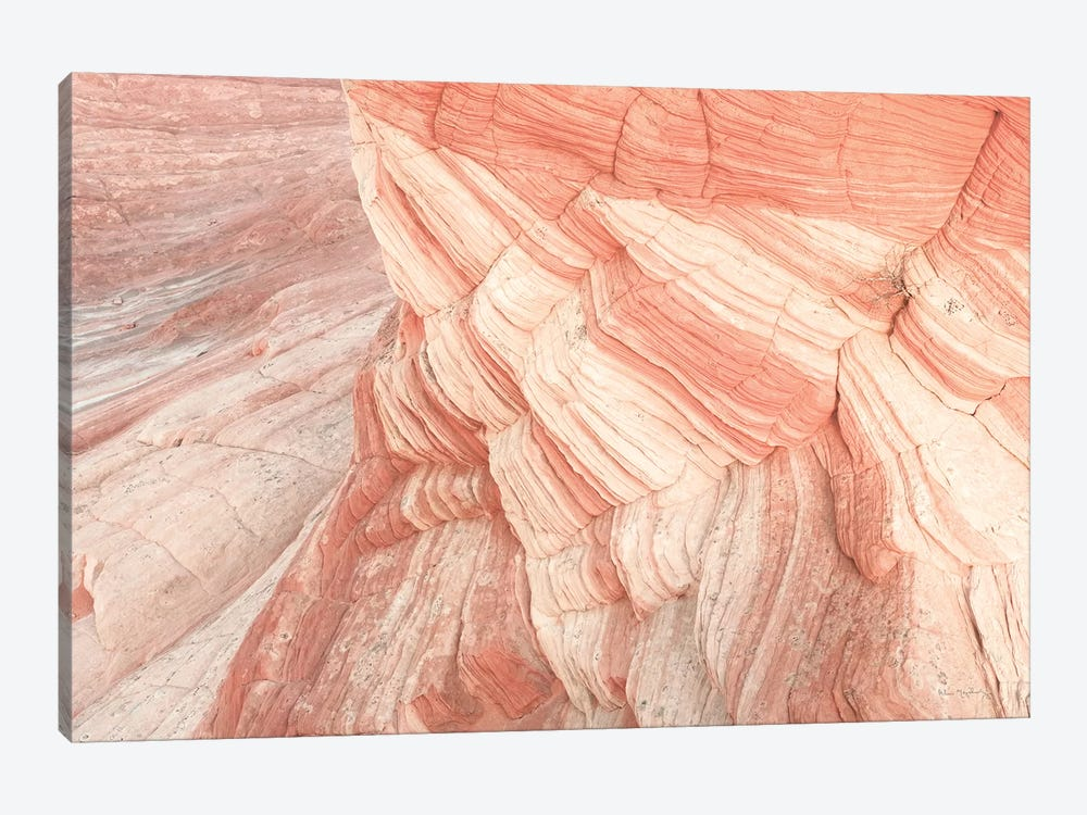 Coyote Buttes VII Blush by Alan Majchrowicz 1-piece Canvas Art Print