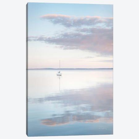 Sailboat in Bellingham Bay II Canvas Print #MJC90} by Alan Majchrowicz Canvas Art
