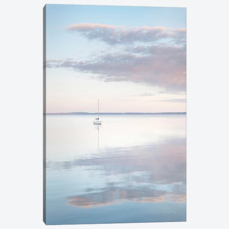 Sailboat in Bellingham Bay II Canvas Print #MJC90} by Alan Majchrowicz Canvas Art