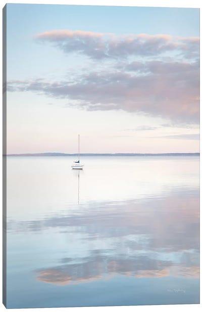 Sailboat in Bellingham Bay II Canvas Art Print