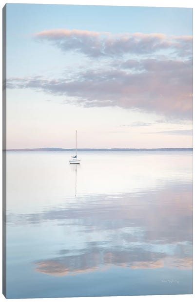 Sailboat in Bellingham Bay II Canvas Art Print