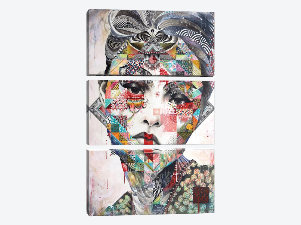 Devon by Minjae Lee 3-piece Canvas Print