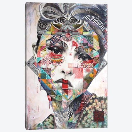 Devon 3-Piece Canvas #MJL10} by Minjae Lee Art Print