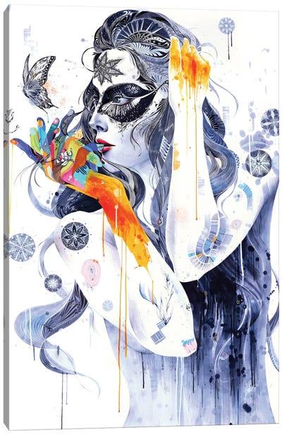 Flower Canvas Print #MJL13