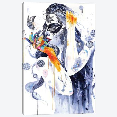 Flower Canvas Print #MJL13} by Minjae Lee Canvas Print