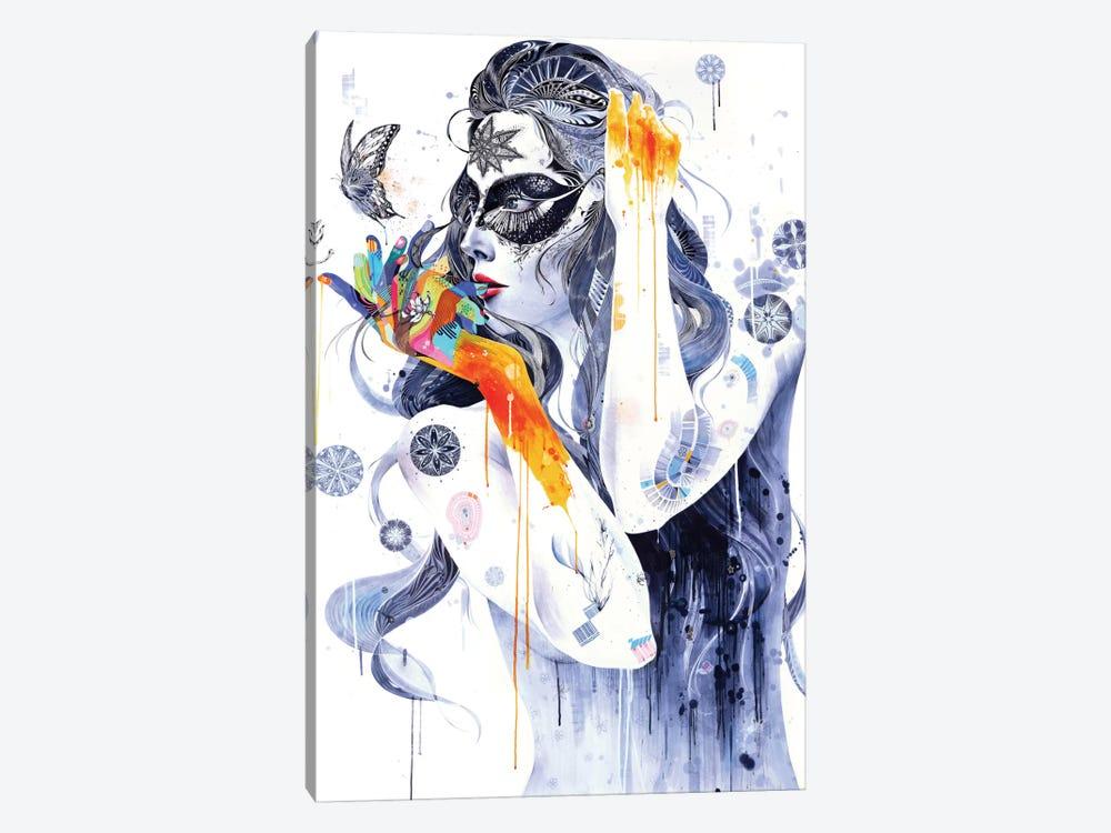 Flower by Minjae Lee 1-piece Canvas Wall Art